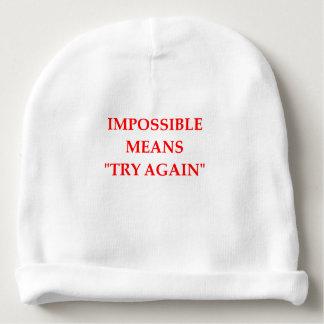 IMPOSSIBLE BABY BEANIE