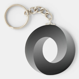 Impossible Circle Optical Illusion Keychain