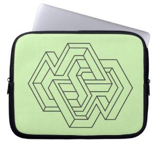 Impossible Geometries -4 Laptop Sleeve