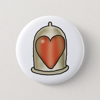 Impossible Love - Love Condom 2 Inch Round Button