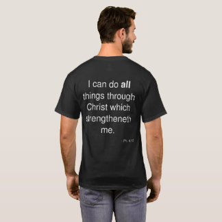 Impossible? Men's T-Shirt with Phil. 4:13