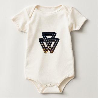 Impossible Solar Geometry 1 Baby Bodysuit