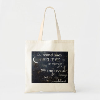 Impossible Things Stars Tote Bag