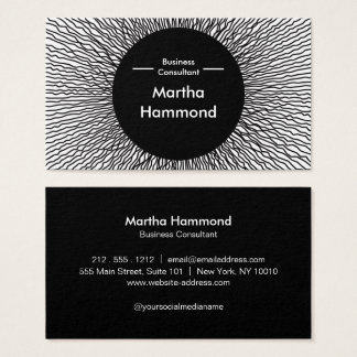 Impossible to Ignore_Black hole Business Card