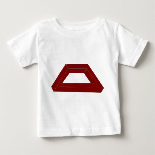 Impossible Trapezoid Optical Illusion Baby T-Shirt