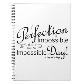 Impossibly Perfect Day Notebooks