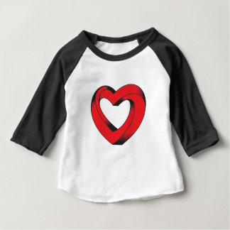 impossibly twisted heart baby T-Shirt