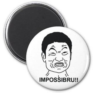 Impossibru 2 Inch Round Magnet