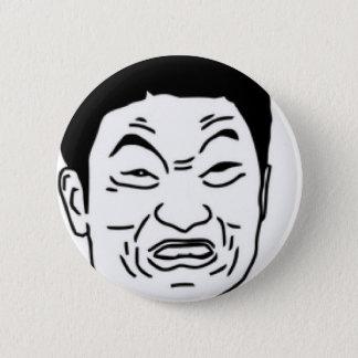 Impossibru!! Comic Face 2 Inch Round Button
