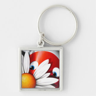 Impossimal© - 'Forget Me Not' Keychain