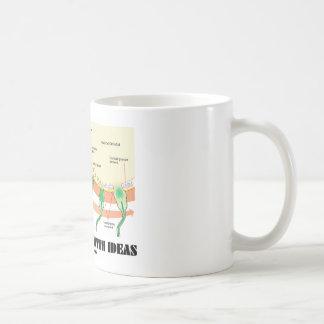 Impregnated With Ideas (Sperm Egg Fertilization) Coffee Mug