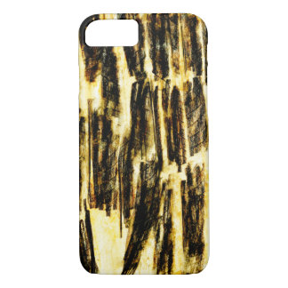Impressed Mango Leaf Abstract iPhone 7 Case