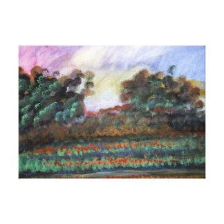 Impression de conception de paysage impressions sur toile