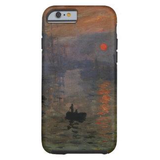 Impression, lever de soleil par l'impressionisme coque iPhone 6 tough