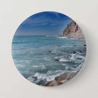 Impression Ocean 1 3 Inch Round Button