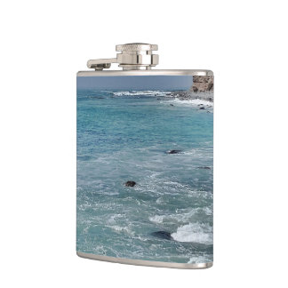 Impression Ocean 1 Hip Flask