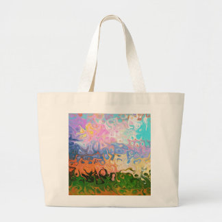 Impression Of Abstraction Abstract Design Jumbo Tote Bag