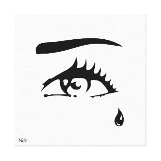 Impression on Fabric 30.48 X 30,48cm ep 1,91cm Canvas Print