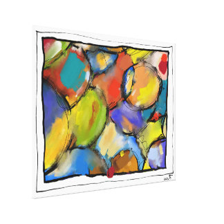 """Impression on fabric, large model, """"Concealments Canvas Print"""