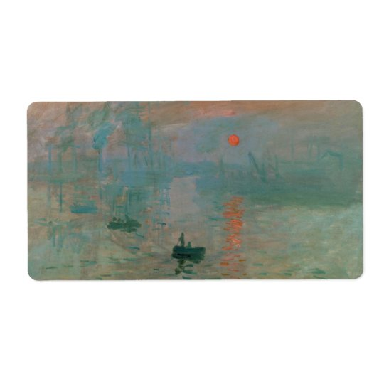 Impression, Soleil Levant by Claude Monet 1872