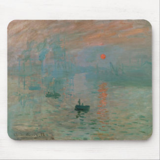 Impression, Soleil Levant by Claude Monet 1872 Mouse Pad