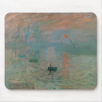 Impression, Soleil Levant by Claude Monet 1872 Mouse Pad