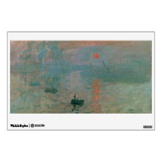 Impression, Soleil Levant by Claude Monet 1872 Wall Sticker
