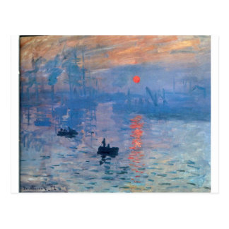 Impression, sunrise by Claude Monet Postcard