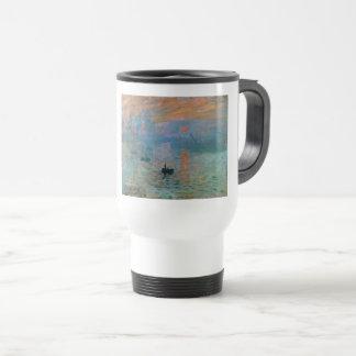 Impression Sunrise by Claude Monet Travel Mug
