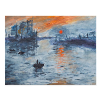 Impression, Sunrise Postcard