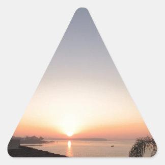 Impression Sunrise Triangle Sticker