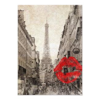 impressionism autumn landscape paris eiffel tower card