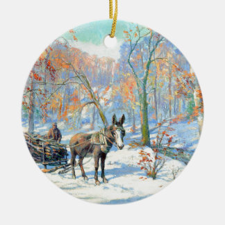 Impressionism | Fall Harvest Ceramic Ornament