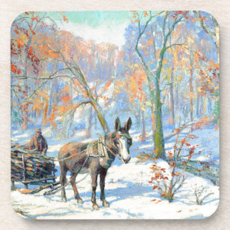 Impressionism | Fall Harvest Coaster