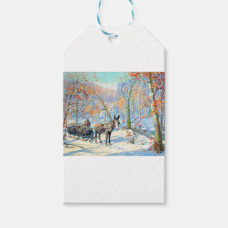 Impressionism | Fall Harvest Gift Tags