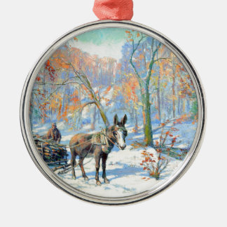 Impressionism | Fall Harvest Metal Ornament