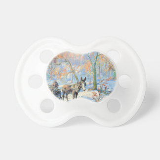 Impressionism   Fall Harvest Pacifier