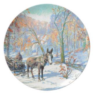 Impressionism | Fall Harvest Plate