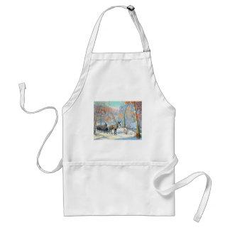 Impressionism | Fall Harvest Standard Apron