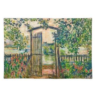 Impressionism Garden Gate Placemat
