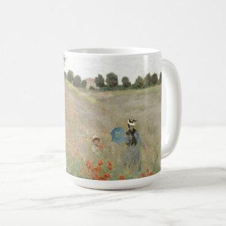 Impressionism Monet Poppies Wildflower Flowers Mug