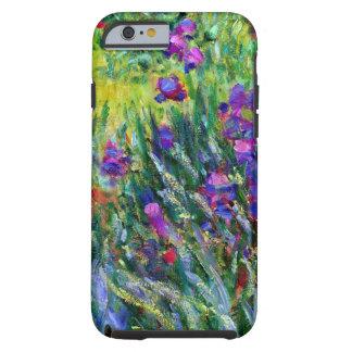 Impressionisme de jardin d'iris coque iPhone 6 tough