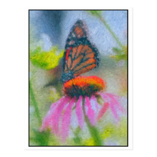 Impressionist Butterfly 3 Postcard