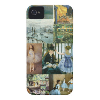 Impressionist Collage iPhone 4 Cover