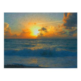Impressionist Hobe Sound Postcard
