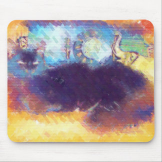 Impressionist Kitty Mouse Pad