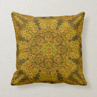 Impressionist Mandala Pillow 5