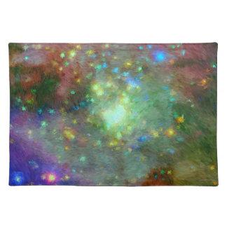 Impressionist Orion Nebula Placemat