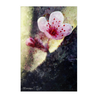 "Impressionist Painting ""Cherry Blossom"" #1 Acrylic Print"