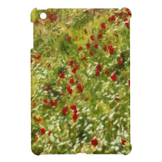 Impressionist Poppies Case For The iPad Mini